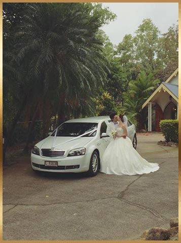 cairns wedding car hire
